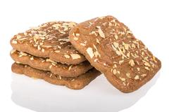 speculaas,  typical dutch sweets - stock photo