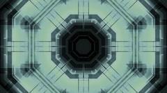 Science Fiction Geometric Loop B27 Stock Footage