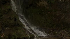 Stock Video Footage of Waterfall in Bad Urach in the rain