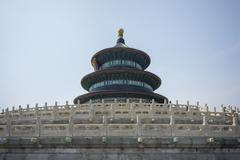 Temple of heaven, beijing china Stock Photos