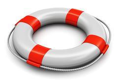 Lifesaver belt Stock Illustration