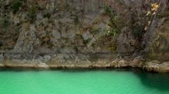 Manavgat Reservoir Mountains Stock Footage