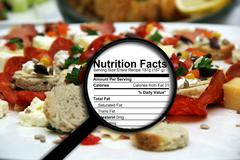 Nutrition facts Stock Illustration