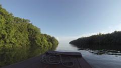 Tonle Sap lake Cambodia Stock Footage