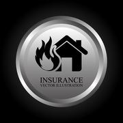 Stock Illustration of insurance graphic design , vector illustration