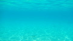 Underwater Background Sun Rays, Water Stock Footage