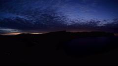 4K. Timelapse sunrise in the mountains. Balaklava, Crimea, Russia. Ultra HD Stock Footage