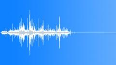 Paper Debris Crunch -Medium 2 - sound effect