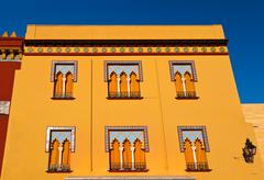 Old house in arabian style at cordoba spain Stock Photos