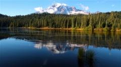 Mt.Rainier Stock Footage