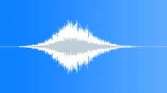 Whoosh Designed White Noise CRFX 404 Sound Effect