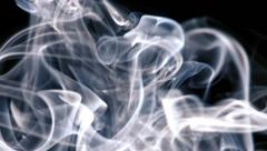 Stringy Smoke Texture Stock Footage