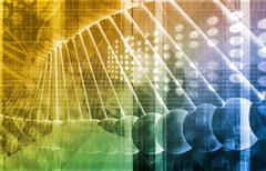 Biotechnology Stock Illustration