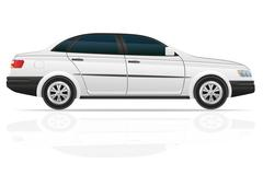 Car sedan illustration Stock Illustration