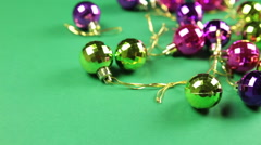 Stock Video Footage of baubles in mess
