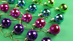 baubles in order - stock footage