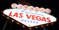 Flashing Lights Electric Bulbs Icon Attraction Night Las Vegas Welcome Neon Sign 4k or 4k+ Resolution