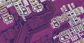 Purple Magenta Circuit Board Closeup Computer Motherboard Internet Networking 4k or 4k+ Resolution