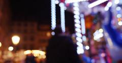 Defocused carousel or merry-go-round Arkistovideo