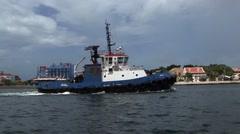 Tug Boat Stock Footage