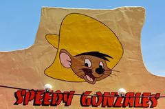 speedy gonzales - stock photo