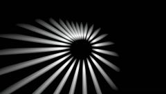 Polar sun lights Stock Footage