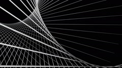 White net space Stock Footage