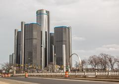 GM Renaissance Center Detroit Kuvituskuvat