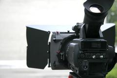 Stock Photo of hd camcorder