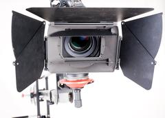 Stock Photo of hd camcorder on crane