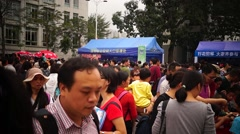 Shenzhen police open day activities, in China Stock Footage
