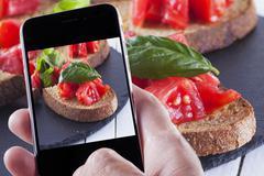 Food photography Stock Photos
