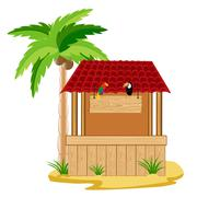 Building on song Stock Illustration