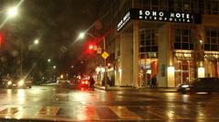 SOHO Metropolitan Hotel Toronto Stock Footage