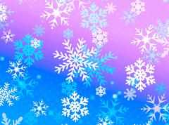Snow flake design Stock Illustration