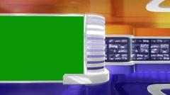 Virtual Studio - HD LOOP 249 Stock Footage