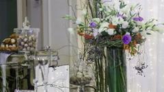Round trip Elements Wedding ceremony - stock footage