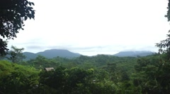 : Island Palawan panorama. A landscape. A photo in the nature. Stock Footage