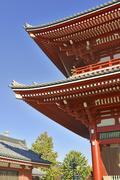 Sensoji Buddhist Temple in Asakusa, Tokyo, Japan Stock Photos