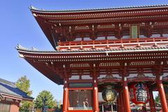 Sensoji Buddhist Temple in Asakusa, Tokyo, Japan - stock photo