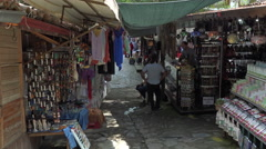 Ephesus Turkey Sirince village market stores 4K 057 Stock Footage