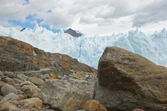 Glacier Perito Moreno, Argentina Stock Photos