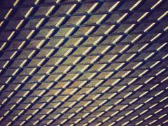 Vintage retro steel background - stock photo