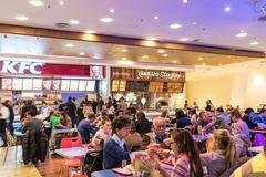 Kentucky Fried Chicken Restaurant - stock photo