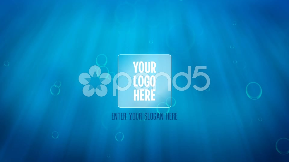 After Effects Project - Pond5 Underwater Drop Logo Reveal 44439639