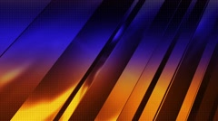 Blue Orange Background - HD LOOP 250 Stock Footage