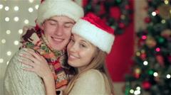 Warm Family Christmas - stock footage