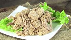 Tuna (seamless loopable 4k footage) Stock Footage