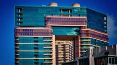 Honolulu Modern Building 02 - stock footage