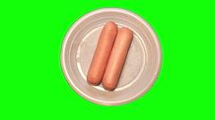 Fast food 04 Stock Footage